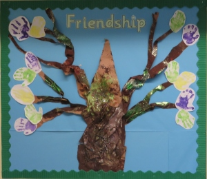 Our beautiful Friendship Tree